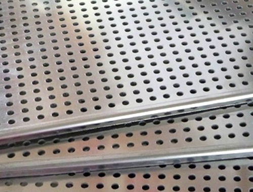 301Stainless Steel Perforated Sheet