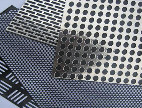 SS 301 Perforated Sheet