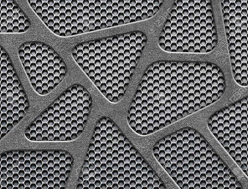 SS 304H Perforated Sheet