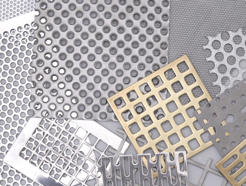 SS 304L Perforated Sheet