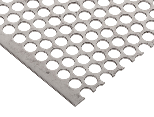 321 Stainless Steel Perforated Sheet