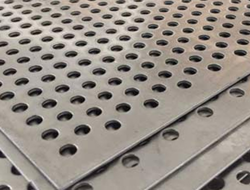 410 Stainless Steel Perforated Sheet